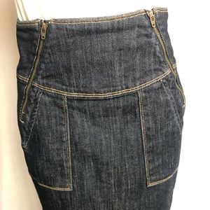 New high waist citizens of humanity skirt size 27